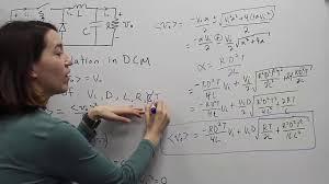 Discontinuous Conduction Mode Buck Converter Design Fundamentals Of Power Electronics Buck Converter In Discontinuous Conduction Mode Dcm