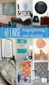 Wall Decor For Large Living Room Wall Remodelaholic 60 Budget Friendly Diy Large Wall Decor Ideas