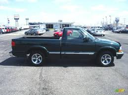 2003 Dark Green Metallic Chevrolet S10 LS Regular Cab #6787951 ...