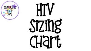 Htv Sizing Chart Htv Sizing Chart And Design Placement Shootingstarsvg
