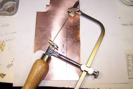 how to cut copper sheet for jewelry beginning metalsmithing handmade artists blog