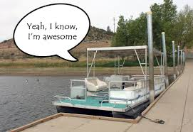 pontoon boat with upper deck