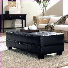 faux leather ottoman coffee table startling bedroom storage trunk ideas black . Faux Leather Ottoman Coffee Table Black Tufted