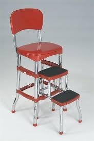 retro step stool retro kitchen step stool retro chair step stool yellow