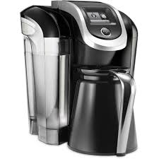 Coffee Maker K Cup And Pot Keurig 20 K300 Coffee Brewing System With Carafe Black Walmartcom