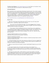 Resume Summary Examples Entry Level New Resume Examples For