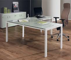 glass office table. Green Glass Executive Desk Office Table
