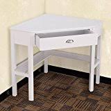 white home office desk. Tangkula Corner Computer Desk Home Office Wood With Storage Shelf Laptop PC Table Writing Study White