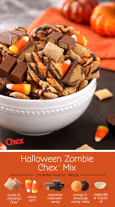 homemade halloween candy ideas. Contemporary Ideas This Homemade Halloween Zombie Chex Mix Includes Room To Improvise With  Your Favorite Tricks And Treats To Candy Ideas D