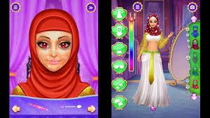 hijab doll makeover hijab game makeup game gameiva games