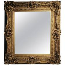 Antique frame Painted Antique Italian Gilt 19th Century Picture Frame Or Mirror Baroque Rococo Style For Sale 1stdibs Antique Italian Gilt 19th Century Picture Frame Or Mirror Baroque