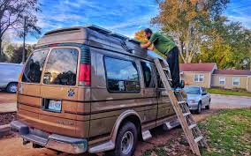 epic guide to diy van build electrical how to install a campervan installing solar panels