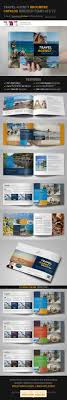 Travel Agency Brochure Catalog Indesign Template 3 Newspaper