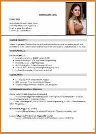 American Resume Format Impressive 48 Cv Format For Job Application Pdf Hvac Resumed