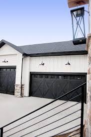 overwhelming black garage doors modern black garage doors pilotproject org