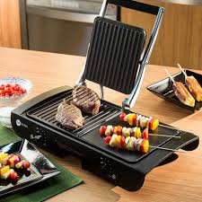 Fun Kitchen Grill 2 Em 1 Fun Kitchen Antiaderente Preto Shoptimecom