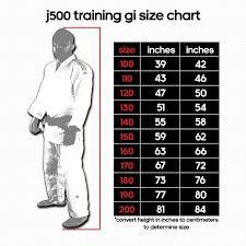 J500 Training White Single Weave