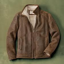 men s leather shearling jacket vintage shearling zip jacket orvis uk