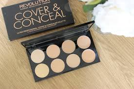 review middot makeup revolution ultra makeup revolution cover and conceal palette light 2 london light um