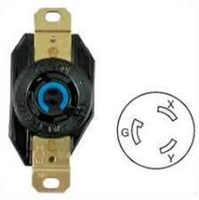 hubbell hbl2320 ac receptacle nema l6 20 female black 250 volt 20 hubbell hbl2320 ac receptacle nema l6 20 female black 250 volt 20 amp