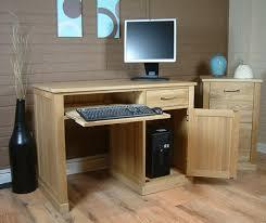 mobel oak hidden home office mobel oak. mobel oak single pedestal computer desk hidden home office