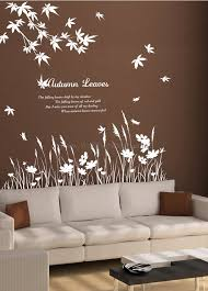 autumn leaves wall decals wall decal leaves wall decal leaves