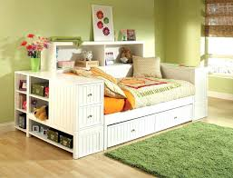 bookcase bed with trundle daybed storage drawer furniture day twin headboard shelves ikea t