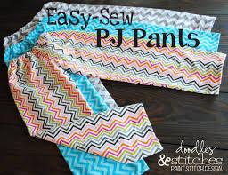 Pajama Pants Sewing Pattern Simple Decoration