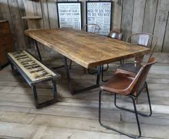 Industrial Extending Dining Table John Lewis Calia Style Extending Vintage Industrial Reclaimed Top