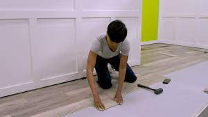 You can cut and nail the trim to the wall. Smartcore Installation Overview Youtube