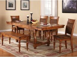 Winners Only Grand Estate 6 Piece Table \u0026 Chair Set with Bench ...
