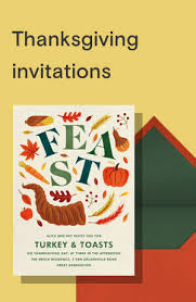 Free Online Thanksgiving Invitations Thanksgiving Invitations Online At Paperless Post