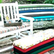 red bench cushion outdoor red leather bench cushion schielesculptures red bench cushion