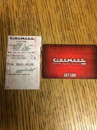 cinemark gift card balance photo 1