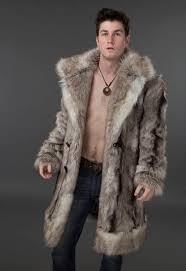 reduction men clothing frolickerfashions regal mens faux fur coat