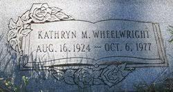 Kathryn Margarita Phelps Wheelwright (1925-1977) - Find A Grave Memorial