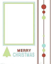 Postcard Collage Template Christmas Photo Postcard Template