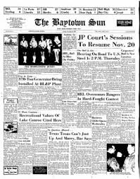 The Baytown Sun From Baytown, Texas On November 16, 1969 · Page 1