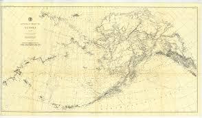 The 1898 U S Coast And Geodetic Survey Map Of Alaska