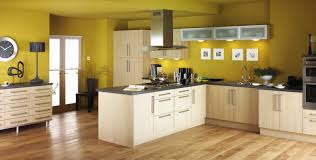 Oak Floor Kitchen Oak Kitchen Design With Oak Wooden Countertops And Oak Wooden