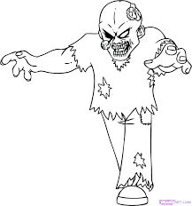 scary zombie colouring pages best evil coloring images on books food scary zombie coloring