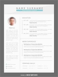 Contemporary Resume Templates Free Word Astonishing Free Modern Cv