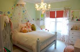 girls room chandelier kids eclectic with blue bed breadboard canopy