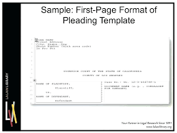 Pleading Paper In Word Legal Pleading Template Collections Of Paper Word Fresh