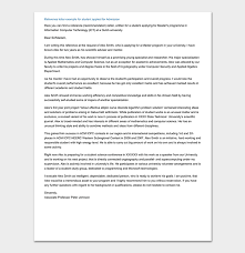 Writing A Recommendation Letter For A Student School Reference Letter Format 15 Sample Letters