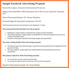 Advertising Proposal Template Word Advertising Proposal Template 9 ...