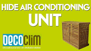 hide air conditioning unit
