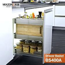 cabinet baskets pull out basket organizer stainless steel kitchen cabinet pull out baskets kitchen cabinets above