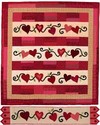 "8 heart quilt-block patterns for Valentine's Day - Stitch This ... & Be My Valentine quilt and Heartfelt table runner "" Adamdwight.com"