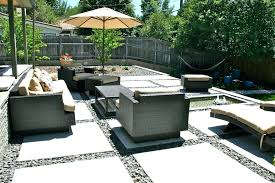 modern concrete patio. Modern Concrete Patio With Front Yard Patterned .